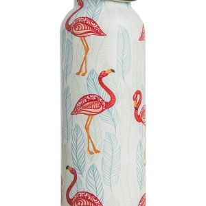 Gourde flamingo en inox