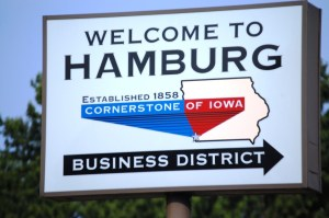 Welcome to Hamburg, IA