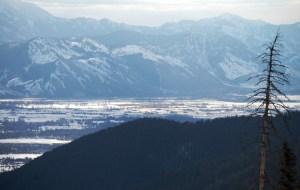 Jackson Hole Valley as seen from Teton Pass