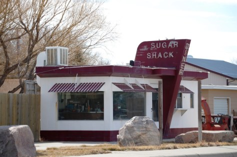 Old Sugar Shack Diner, Chester, Montana