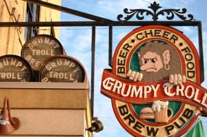 Grumpy Troll Brew Pub and Restaurant, Mt. Horeb, WI