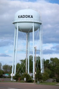 Kadoka, South Dakota water tower