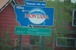 Welcome to West Yellowstone, Montana