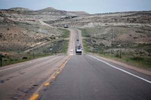 US 30 east of Kemmerer/Diamondville