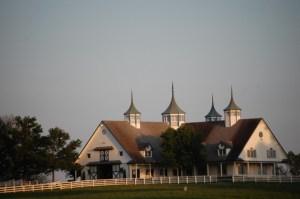 Large Horse barn on Yarnelton Rd. near Lexington