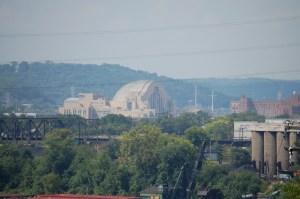 The old Union Terminal in Cincinnati, now the Museum Center