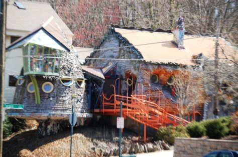 The Mushroom House in Hyde Park area of Cincinnati