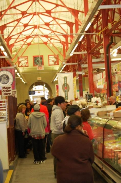 Findlay Market indoor shopping