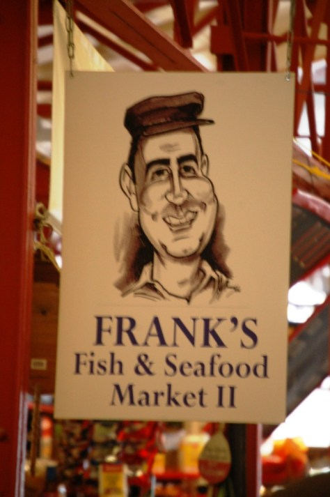 Frank's Fish & Seafood in Findlay Market