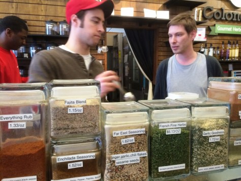 "Spicing it up at Findlay Market's ""Colonel De"" Shoppe"