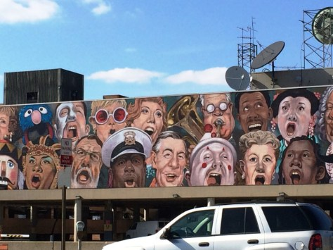 The Singing Mural - Cincinnati