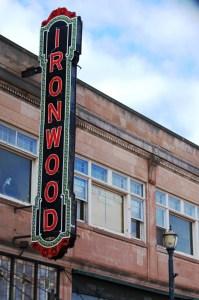 Historic Ironwood Theatre in Ironwood, MI