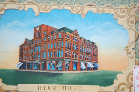 The Knight Hotel Mural in Ashland, WI