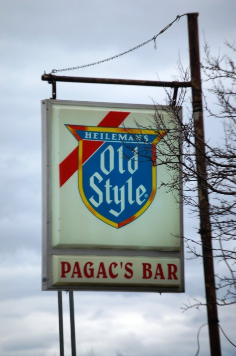 Pagac's Bar west of Ashland, WI