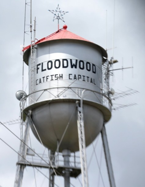 Floodwood Water Tower claims it is the Catfish Capital