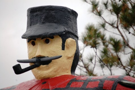 Paul Bunyan in Bemidji