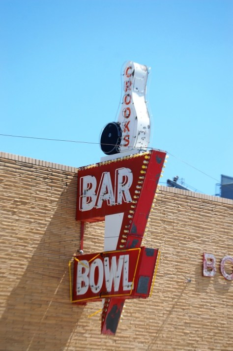 Old Neon for the Bar/Bowling Alley in Rugby