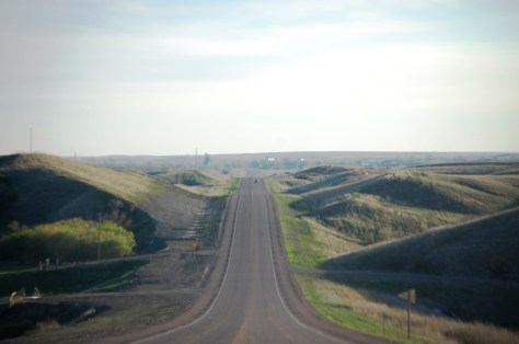 US Route 2 in North Dakota