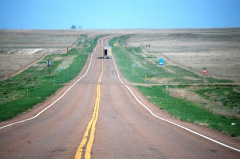 US Highway 2 in eastern Montana