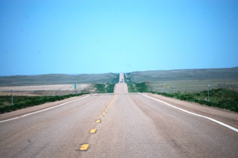 US Route 2 west of Saco, MT