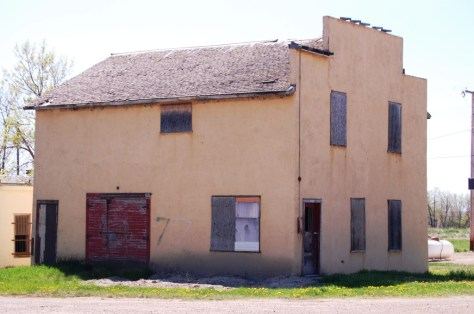Old building in Dodson, MT