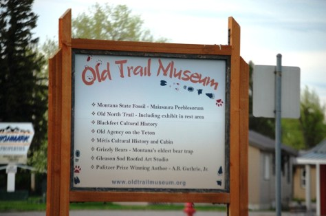 Old Trail Museum in Choteau, Montana