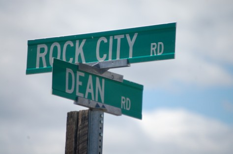 Rock City Rd. and Dean Rd., north of Valier, MT