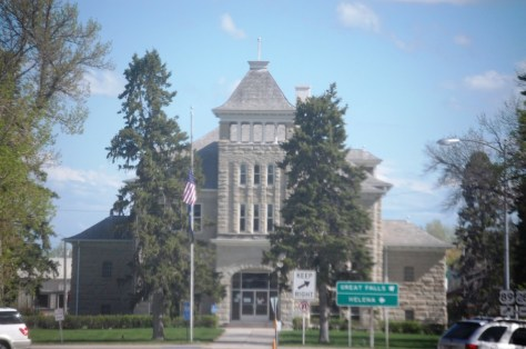 Teton County Courthouse, completed in 1906 and designed by Joseph B. Gibson and George H. Shanley