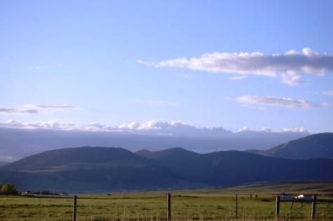 Beautiful views abound on US 89 through Montana (and Big Sky views abound too)