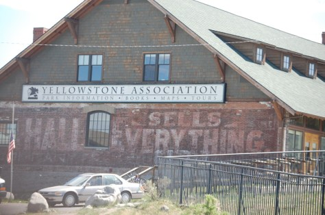 Old ghost sign in Gardiner where they claim to sell everything