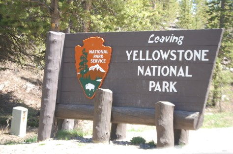 Goodbye Yellowstone