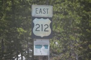 US 212 East on Beartooth Highway
