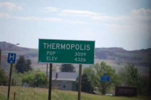 Welcome to Thermopolis, WY