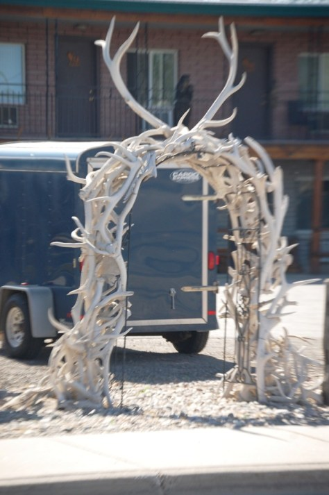 Antler Arch in Thermopolis