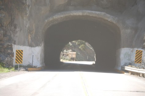 Tunnel #3 on US 20 through the Wind River Canyon