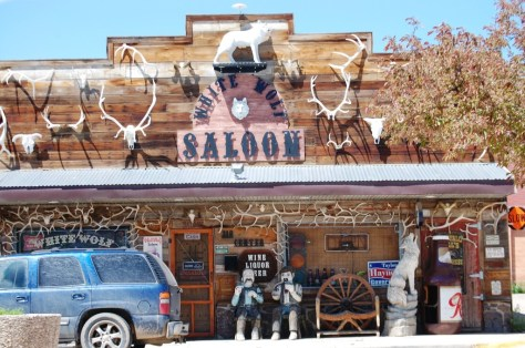 White Wolf Saloon in Douglas, WY
