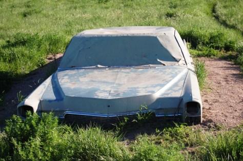 Old Cadillac at Carhenge