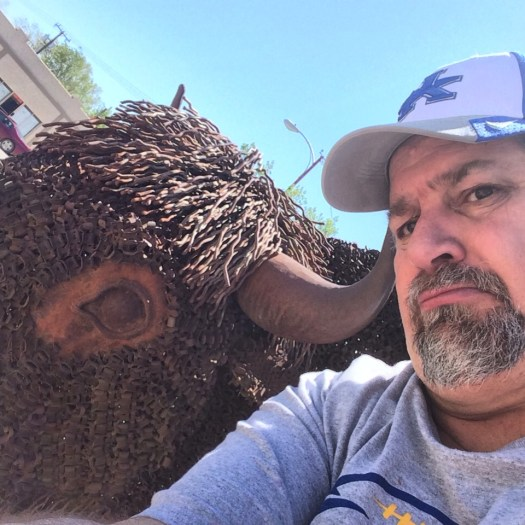 Big Bison in Havre, created by Havre resident Cory Holmes
