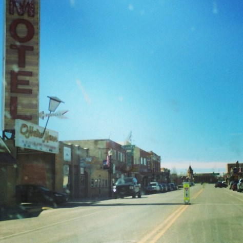 Main Street of Shelby, Montana