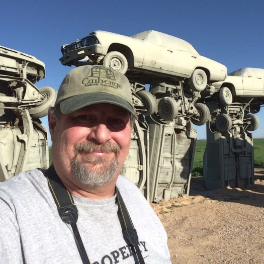 Sumoflam at Carhenge in Alliance, NE