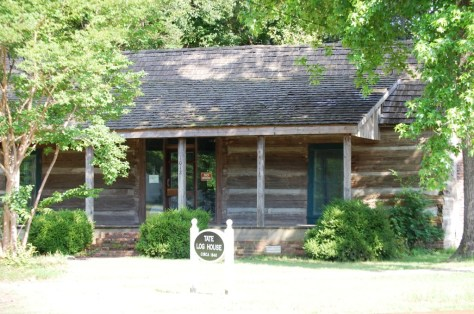 The Tate Log House in Tunica, MS
