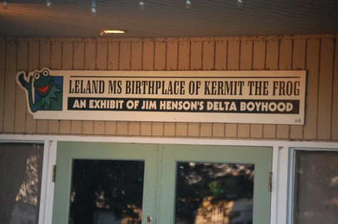 Birthplace of Kermit the Frog, Leland, MS