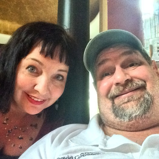 Hanging with Tui Snider in Azle, Texas