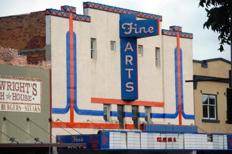 Old Fine Arts Theatre in Denton, TX
