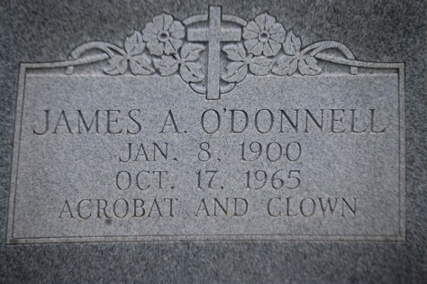 James O'Donnell -- Acrobat and Clown