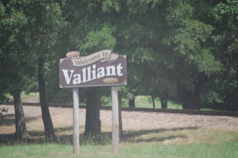 Welcome to Valliant, OK