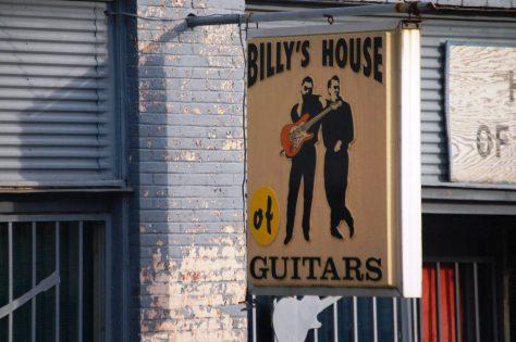 Billy's House of Guitars, Glenwood, AR