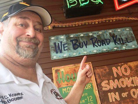 They Buy Road Kill at Bone Daddy's!  Yum!