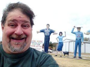 Sumoflam at Glen Goode's Big People in Gainesville, TX