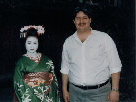 Hanging with a Geisha in Kyoto, Japan 1987